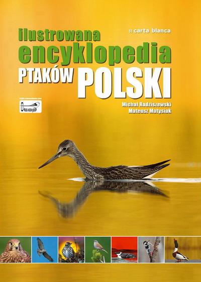 Okładka Ilustrowanej encyklopedii ptaków Polski